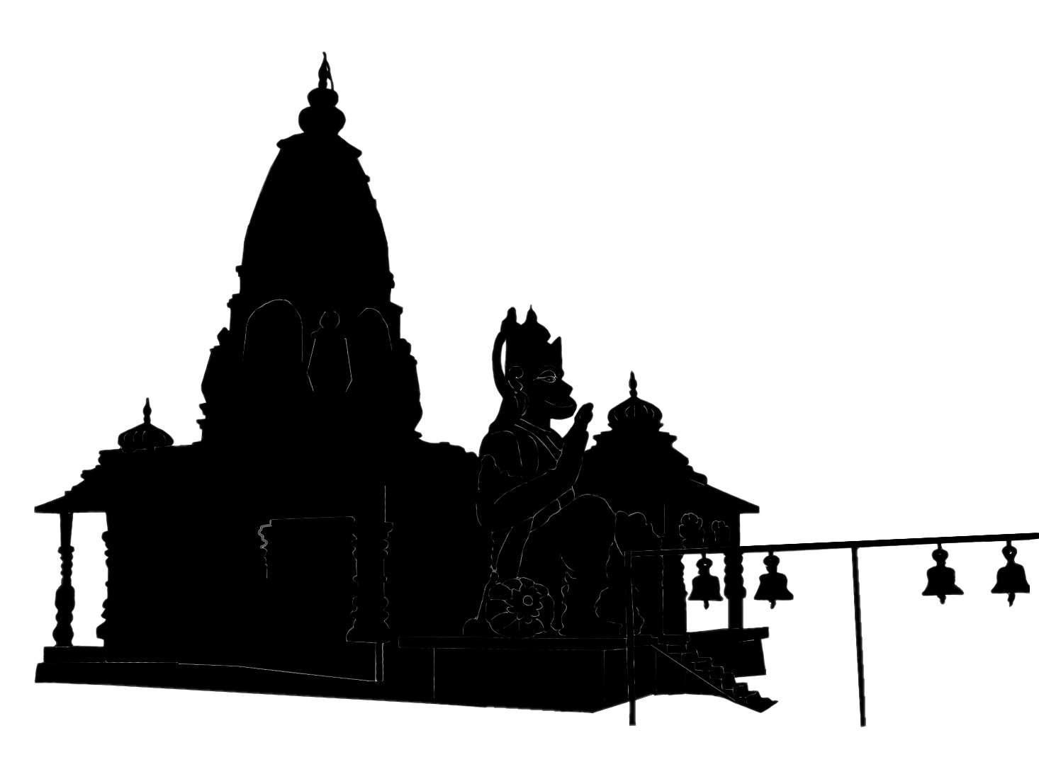 1466x1100 Stock Pictures Temple Silhouettes
