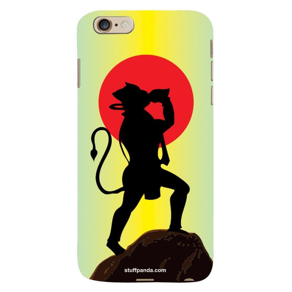 1024x1024 Designer Cool Funky Hanuman Hard Back Cover Case For Iphone 6