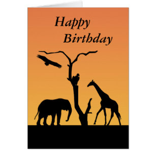 Happy Birthday Silhouette