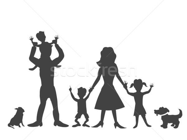 600x450 Happy Family Stock Vectors, Illustrations And Cliparts Stockfresh