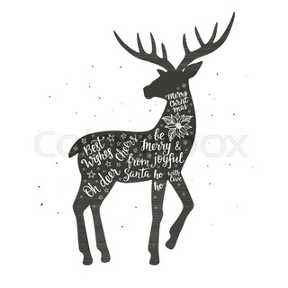 320x320 Happy New Year Greeting Card With Calligraphy Hand Drawn