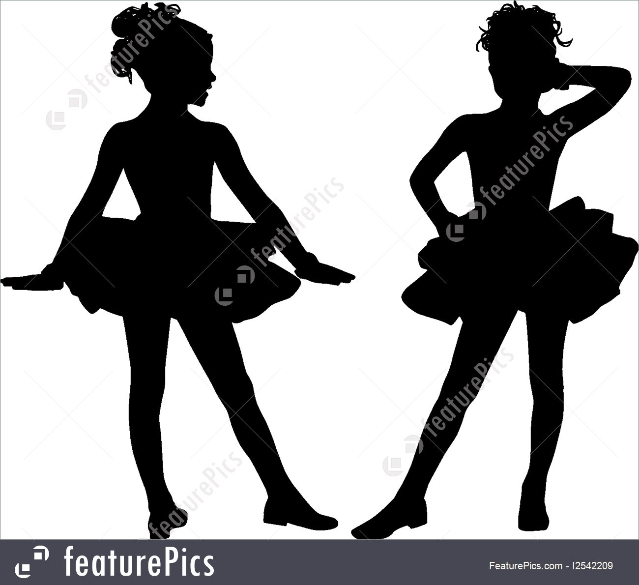 1300x1190 Illustration Of Silhouette Children Dancers