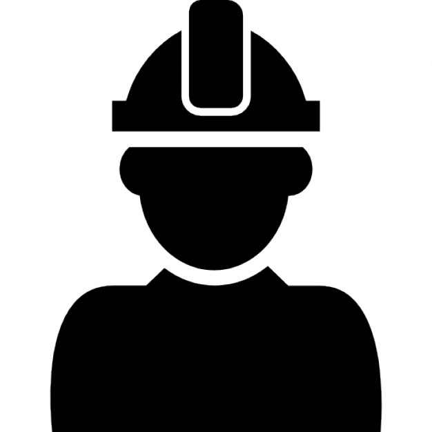 626x626 Constructor With Hard Hat Protection On His Head Icons Free Download
