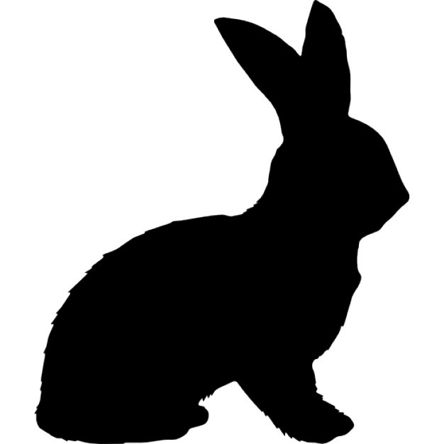 626x626 Rabbit Silhouette Vectors, Photos And Psd Files Free Download