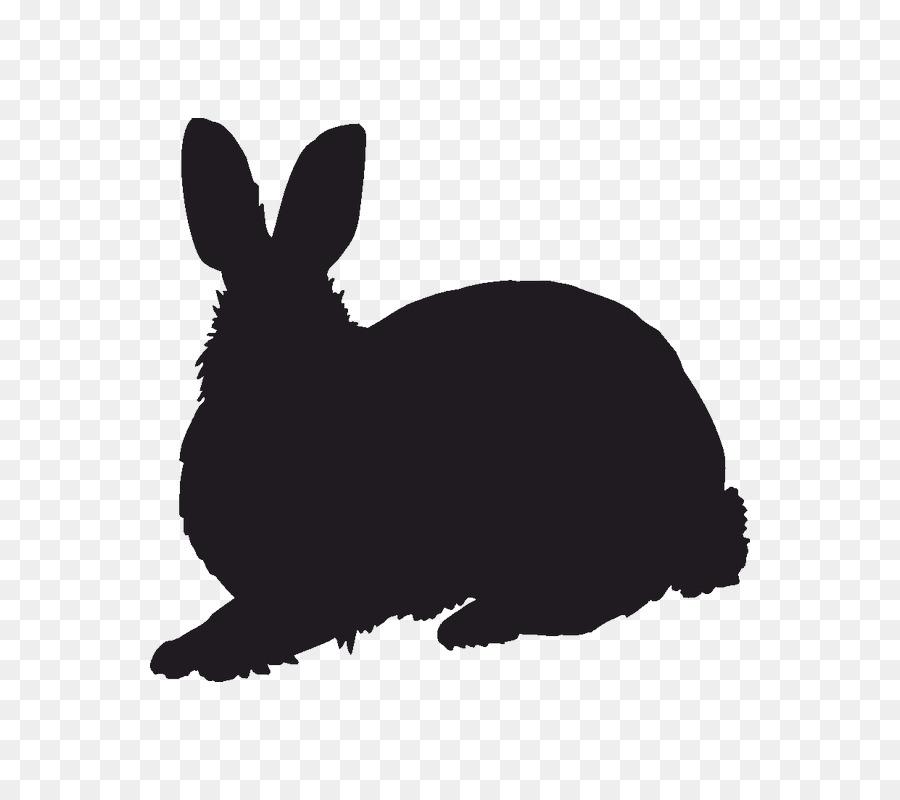 900x800 Domestic Rabbit Silhouette Hare Stencil