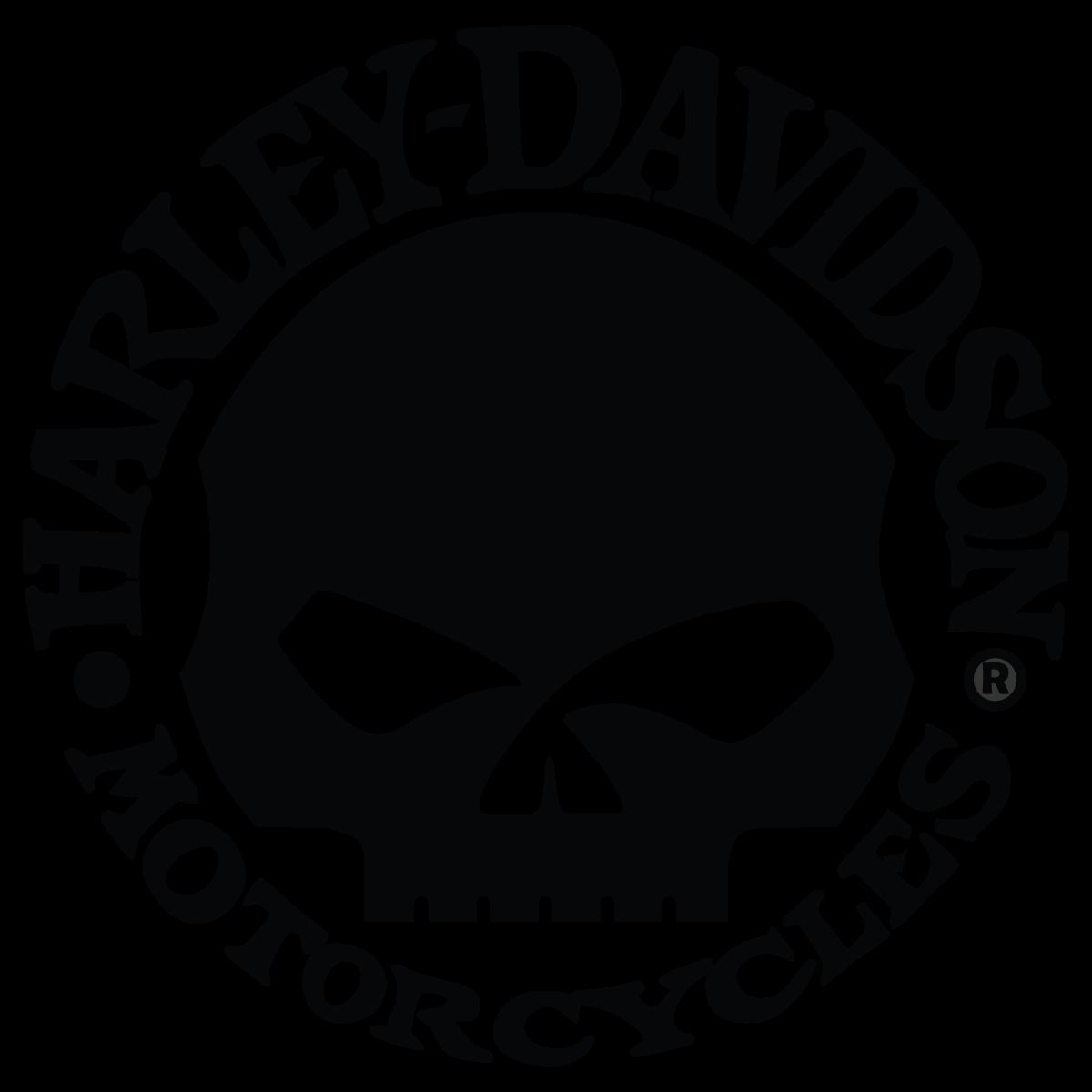 1200x1200 Harley Davidson Motor Cycles Skull Logo Vector Free Vector
