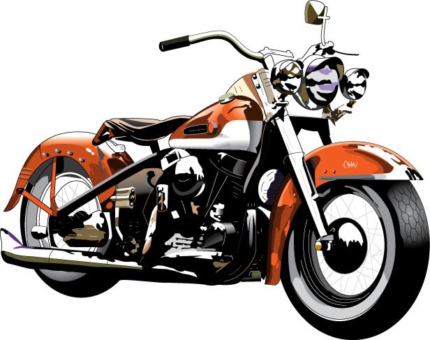 616x487 Harley Davidson Motorcycle Clipart Library Harley Davidson