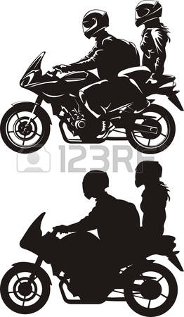 262x450 Motorcycle Silhouette Clip Art For Free 101 Clip Art