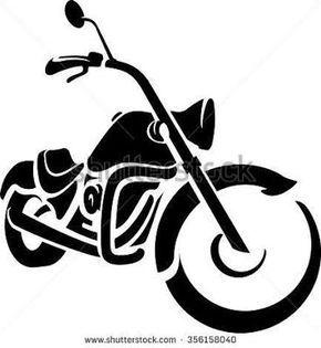 290x315 Billedresultat For Harley Motorcycle Silhouette Stencils