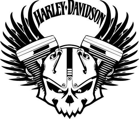 harley davidson silhouette at getdrawings com free for personal rh getdrawings com logo harley davidson vectorizado gratis logo harley davidson vectoriel