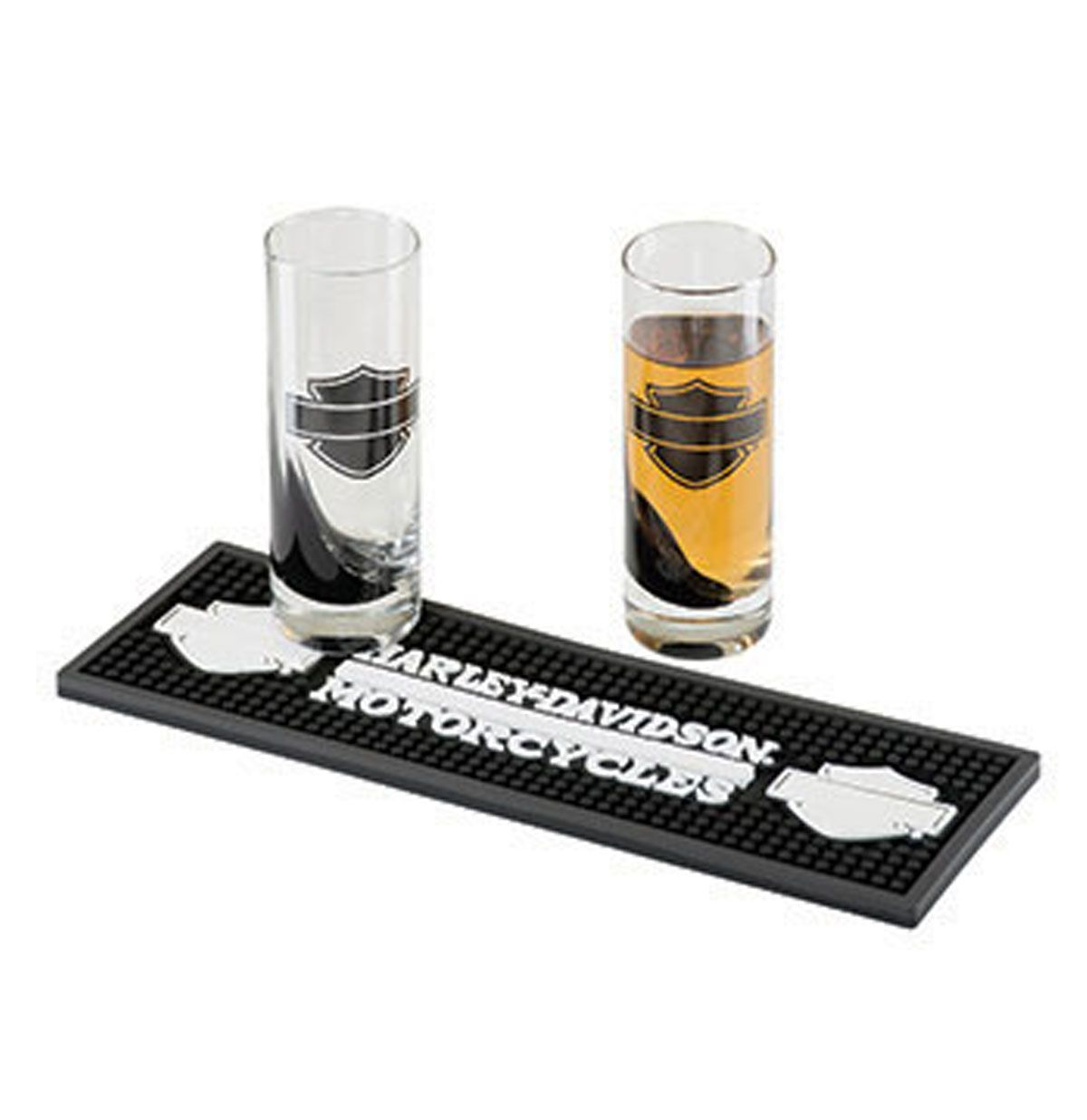 1200x1236 Harley Davidson Piston Shot Glass Set