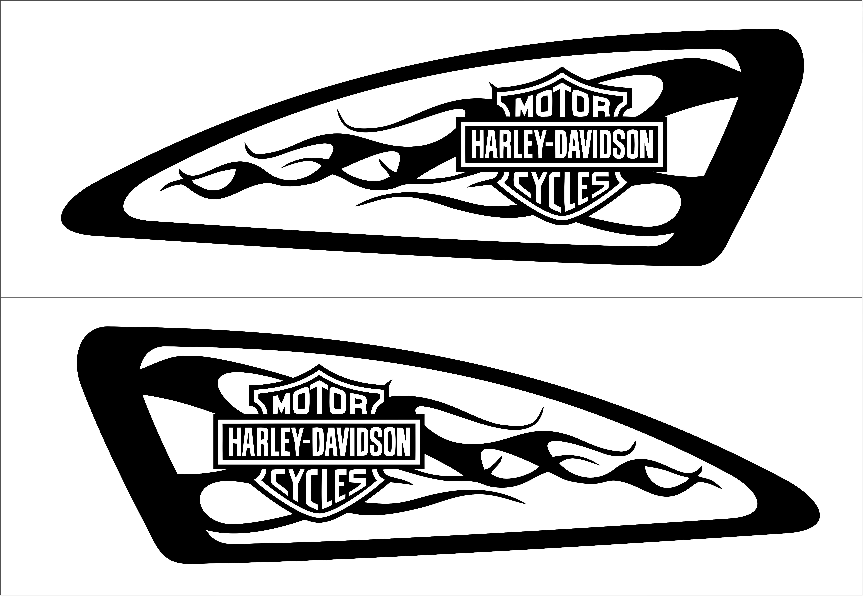 6050x4175 Pin Von Bruce Jackson Auf Harley Decals Airbrush Gas Tank Stencils