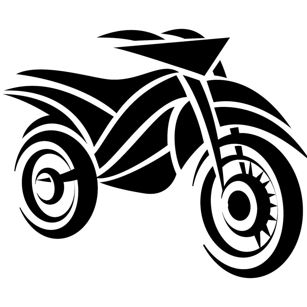 1024x1024 Biker Clipart Honda Motorcycle