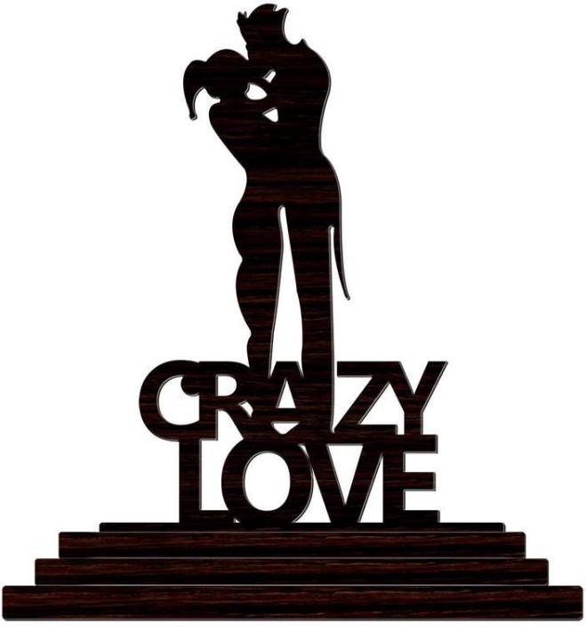 659x704 Crazyink Harley Quinn Joker Crazy Love Decorative Showpiece