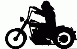 Harley Silhouette