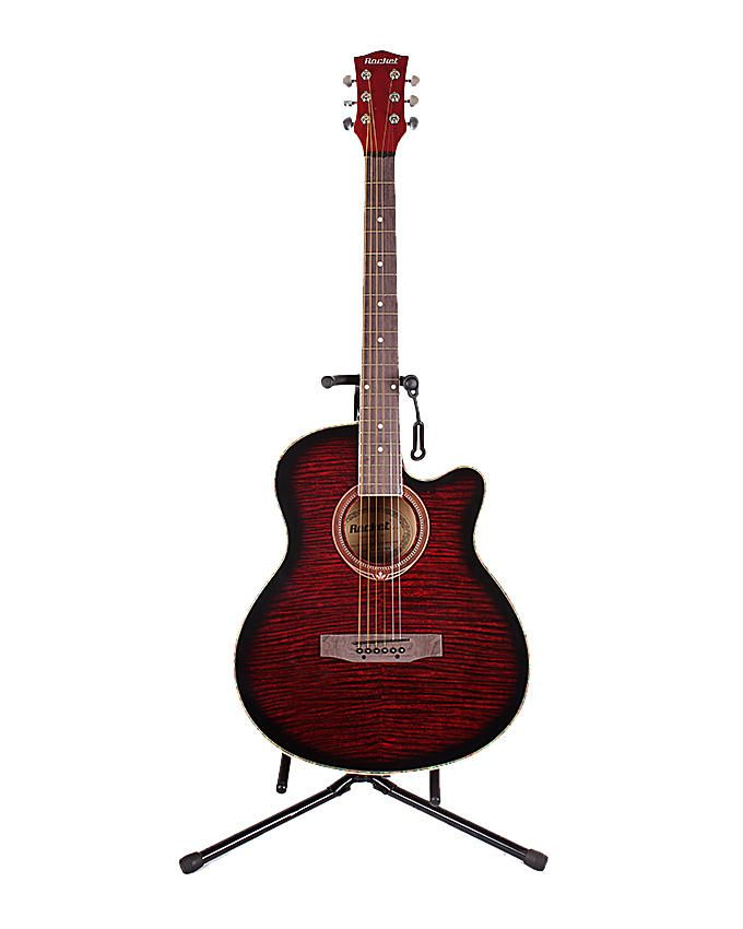 680x850 Buy Rocket 40 Acoustic Guitar Red Online In Pakistan