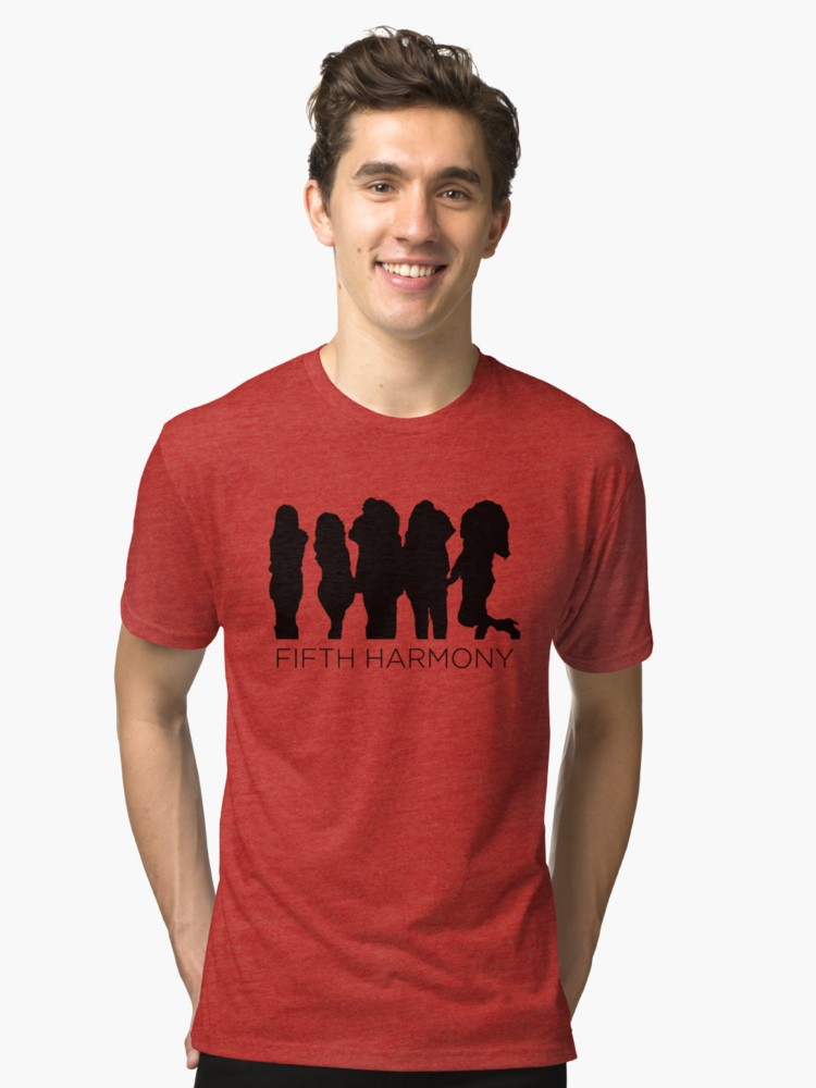 750x1000 Fifth Harmony Silhouette Classic T Shirt By Katiedel Redbubble