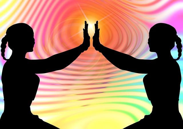 640x452 Free Photo Woman Rest Interior Harmony Meditation Silhouette