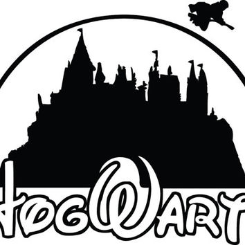 354x354 Free Harry Potter Castle Clipart