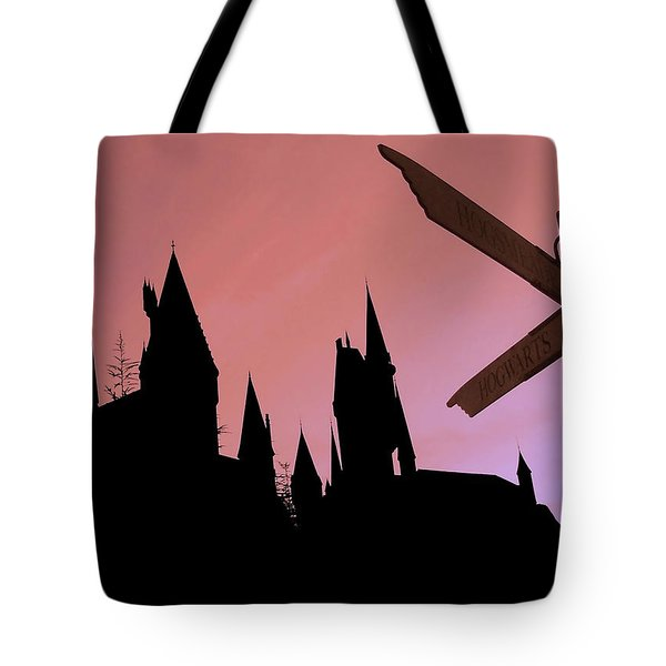 600x600 Harry Potter Castle Tote Bags Fine Art America