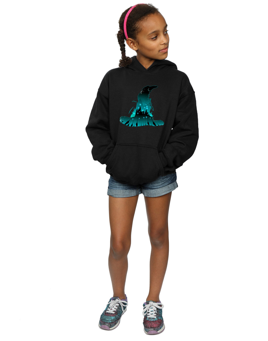 1100x1400 Harry Potter Girls Hogwarts Silhouette Hoodie Ebay