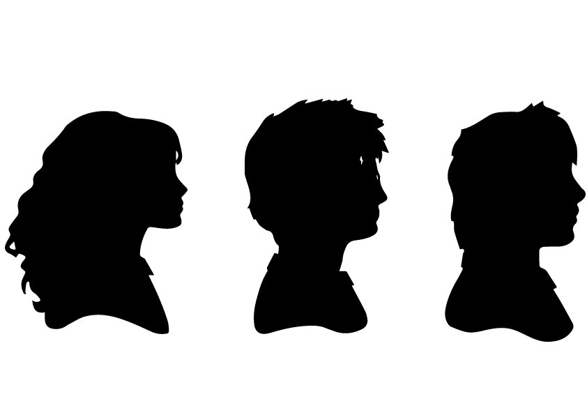 842x595 Harry Potter Trio Heads Svg , Harry Potter Trio Heads Eps , Harry