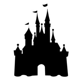 270x270 Disney Castle Stencil Surviving Freshman Year Of College