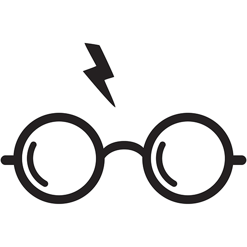 500x500 Harry Potter Silhouette Cut Silhouette Harry