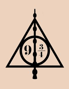 236x305 Harry Potter Deathly Hallows Symbol Made From Outdoor Adhesive