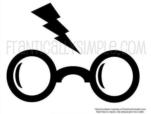 500x379 Harry Potter Freezer Paper Stencil Design Harry Potter