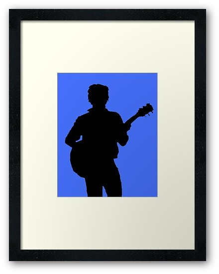 440x550 Harry Styles Silhouette Framed Prints By Laurasplace Redbubble