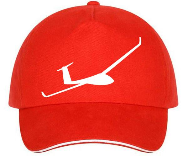 600x500 Glider Silhouette Printed Hats Aviation Shop