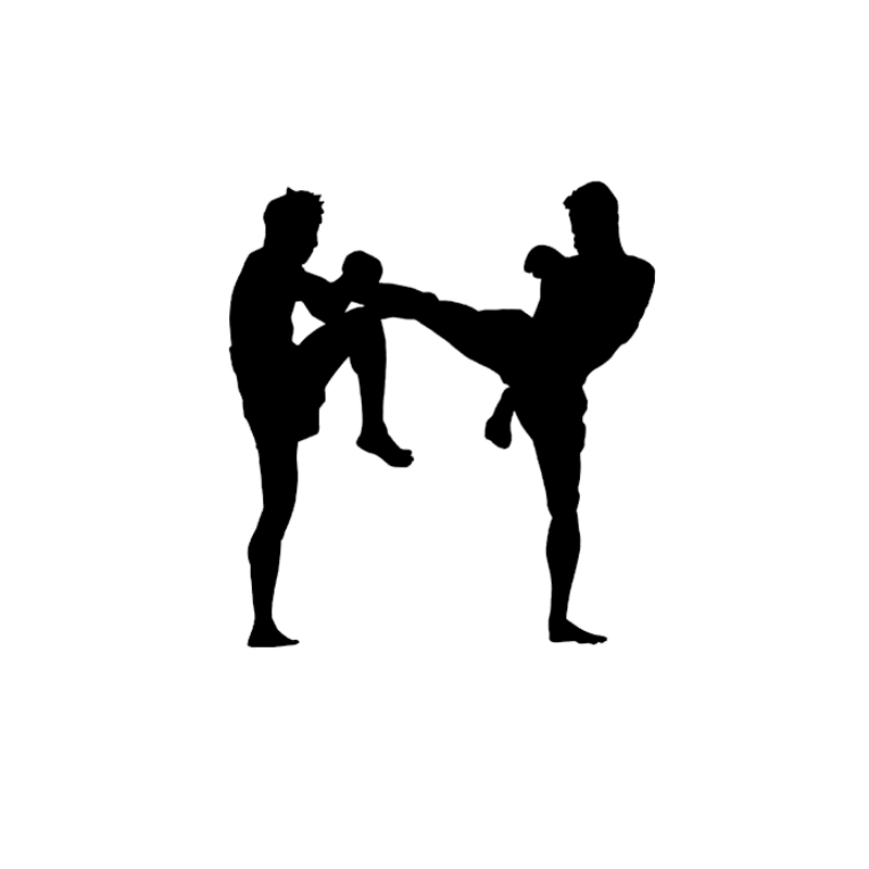 800x800 Mma Mixed Martial Combat Sport Wrestling Kickboxing Wall Sticker