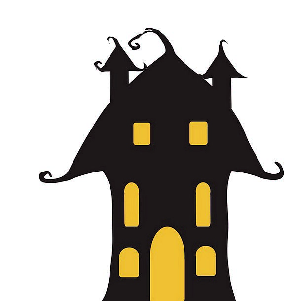 596x609 Halloween, Buildings, Household, Architecture, Haunted, Spooky