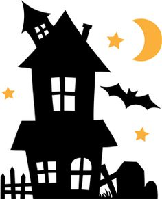 haunted house silhouette clip art at getdrawings com free for rh getdrawings com clipart haunted house images clipart pictures of haunted houses