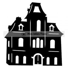 236x236 List Of Synonyms And Antonyms Of The Word Mansion Silhouette