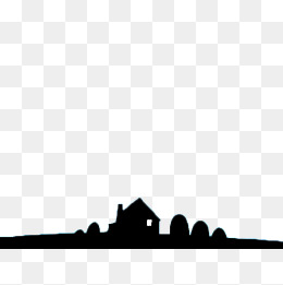 260x261 House Silhouette Png Images Vectors And Psd Files Free