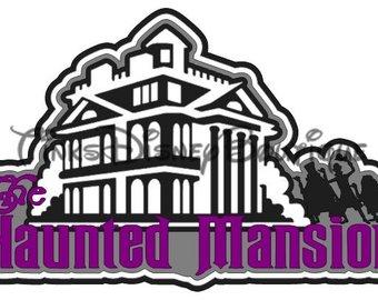 340x270 Haunted Mansion Svg Etsy