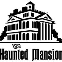 200x200 The Haunted Mansion, Wallpaper Creature Vinyl Decal