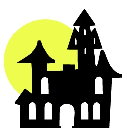 258x270 Halloween Haunted House Clipart Haunted Clipart Silhouette 3