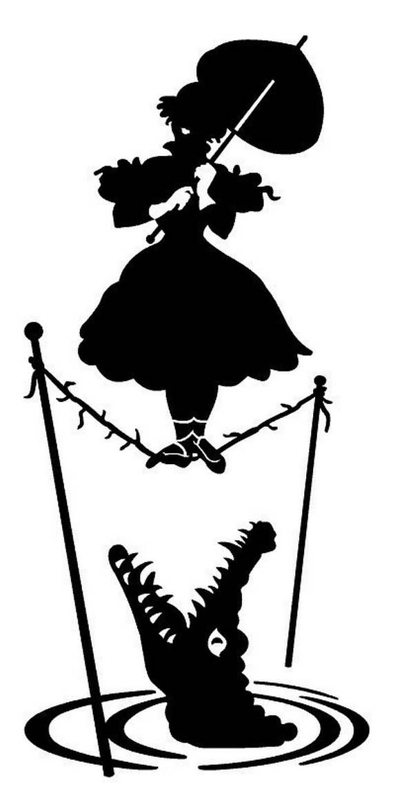 570x1163 Disney haunted mansion silhouette Haunted Mansion Silhouette