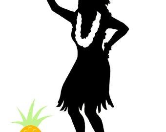 340x270 Hawaiian Hula Girl Etsy