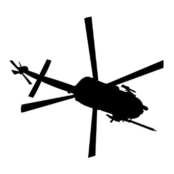 355x355 Blackhawk Helicopter Clipart Collection