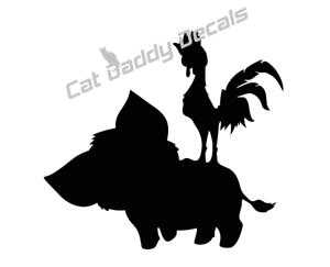 300x243 Moana Decal Hay Hay Disney Decal Sticker Yeti Car All Decals Buy 2