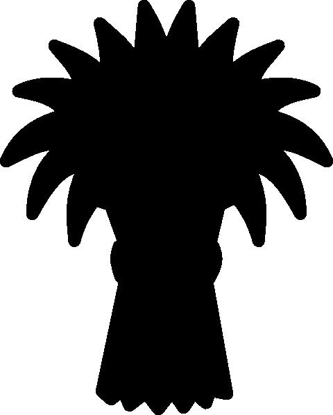 480x598 Hay Stack Silhouette Clip Art