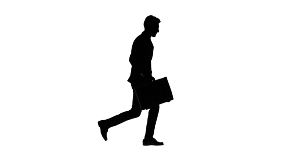 590x332 Man Goes To Work, Understands That He Is Late And Begins To Run