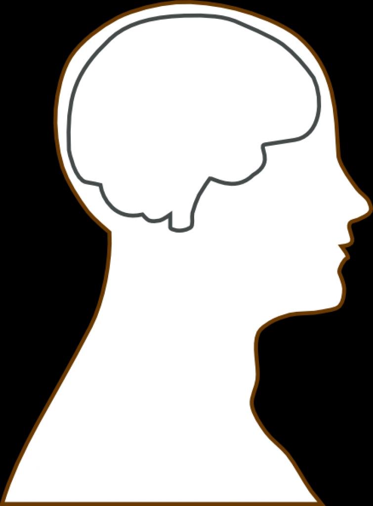 755x1024 Human Head Clipart