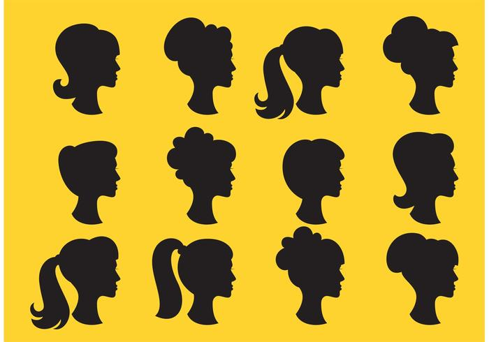 700x490 Head Silhouettes Profile