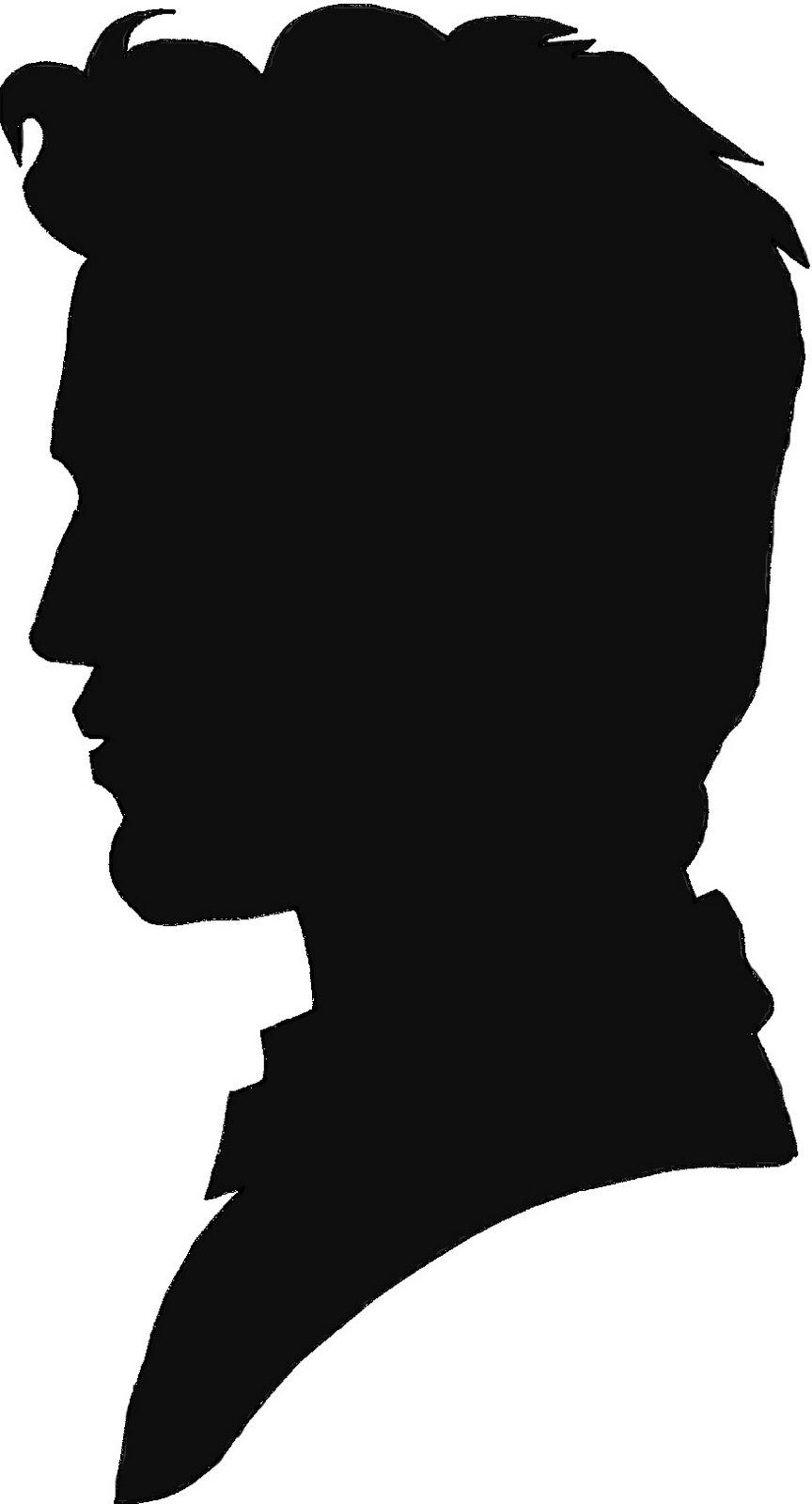 864x1600 Best Head Profile Silhouette Clipart Image