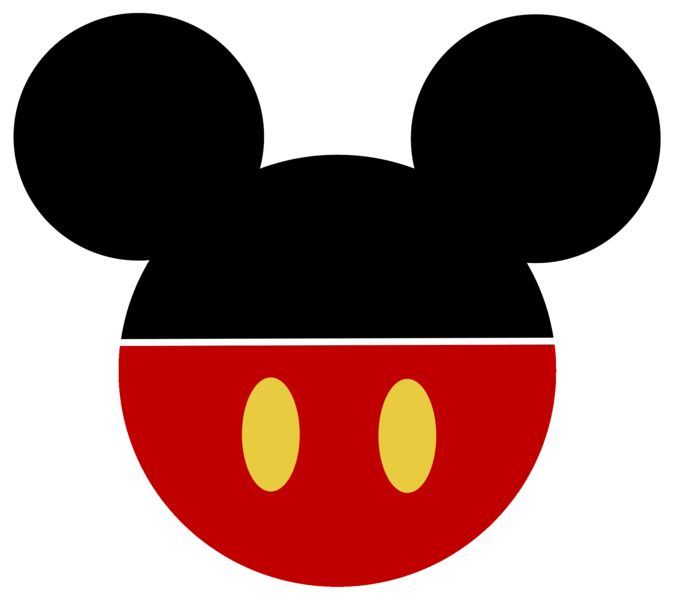 674x600 Mickey Mouse Head Silhouette Clipart